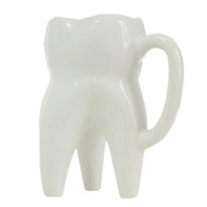 Caneca porcelana dente molar