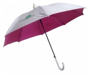 Guarda chuva cabo curvo com copinho