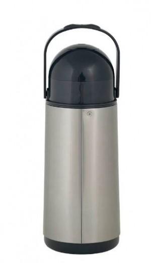Garrafa Térmica de Pressão Nobile Inox 1 Litro