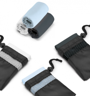 Kit esportivo toalha + sacola