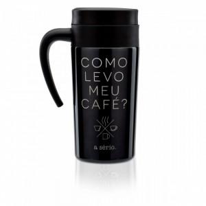 CANECA PARA VIAGEM LEVO MEU CAFÉ