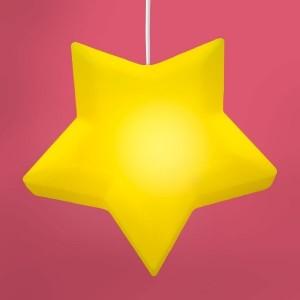 Luminaria Pendente Estrela