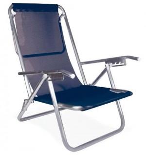 Cadeira Reclinável 5 Posições Plus