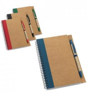 Caderno Espiral c/ Caneta