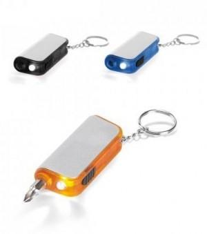 Chaveiro com LED e ferramenta