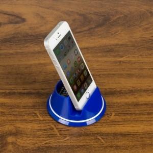 Suporte giratório para celular com porta clips