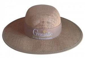 Chapéu de juta feminino