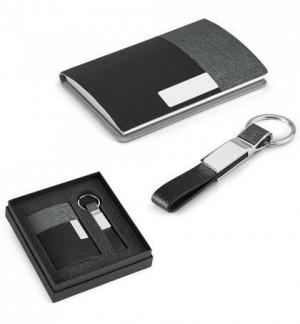 Kit porta cartões e chaveiro