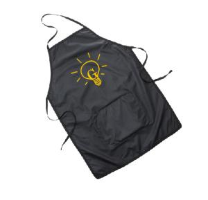 Avental em bagum com bolso