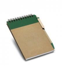 Caderno de Bolso c/ Caneta