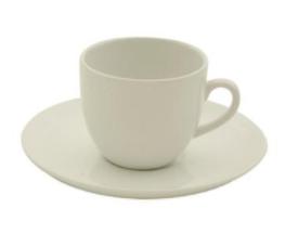 Conjunto chá xícara e pires tradicionais