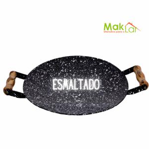BIFEIRA DISCO ESMALTADO 44 CM - MAK LAR