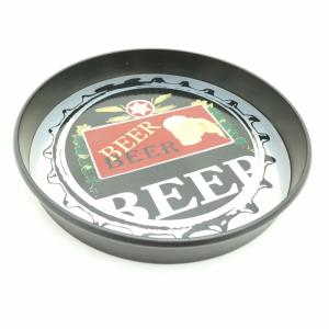 BANDEJA REDONDA BEER CAN - PRETO