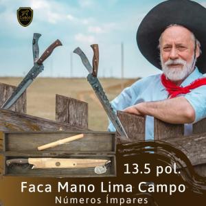 Faca Mano Lima Campo 13,5 pol. Numerada (FC192) Cusco