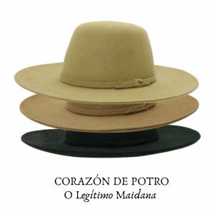 Chapéu Corazon de Potro Aba 9 Maidana