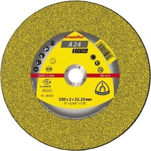 Disco de Corte Kronenflex Ø180x3,0x22,23 mm - Klingspor - A24 Extra (13490)