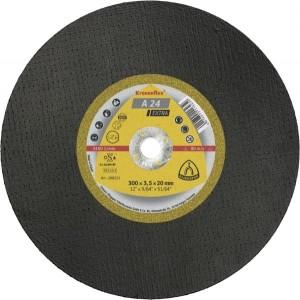 Disco de Policorte Kronenflex Ø300x3,5x25,4 mm - Klingspor - A24 Extra (288500)