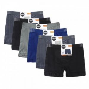 Boxer Sem Costura Plus Size Kit Com 6 Cuecas Selene