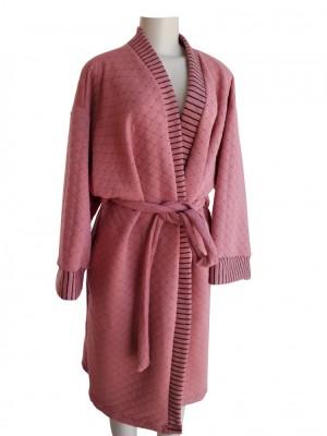 Roupão em Matelassê Tecido Duplo Pijama