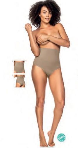 Calcinha Tanga Modeladora Sem Costura Cintura Média