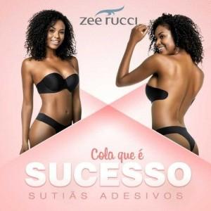 Sutiã costas nuas Zee Rucci com adesivo