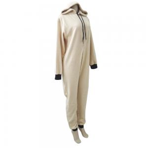 Pijama Macacão Em Pelúcia Com Touca - 80% Algodão