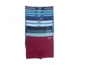 Cueca Boxer Sem Costura Zee Rucci Plus Size Kit com 6