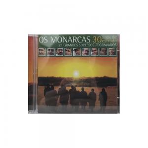 CD Duplo -  Os Monarcas - 30 anos de estrada | 23 grandes sucessos regravados