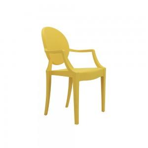 Cadeira Sofia Infantil PP Com Braço