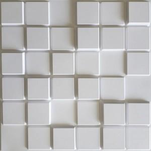 Placa 3D de Poliestireno Autocolante ( Pixel)