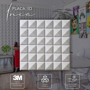 Placa 3D de Poliestireno Autocolante ( Inca)