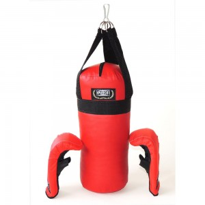 KIT BOXE PUNCH Ref:JUNIOR PU5362 1764 Cor:VMPR,