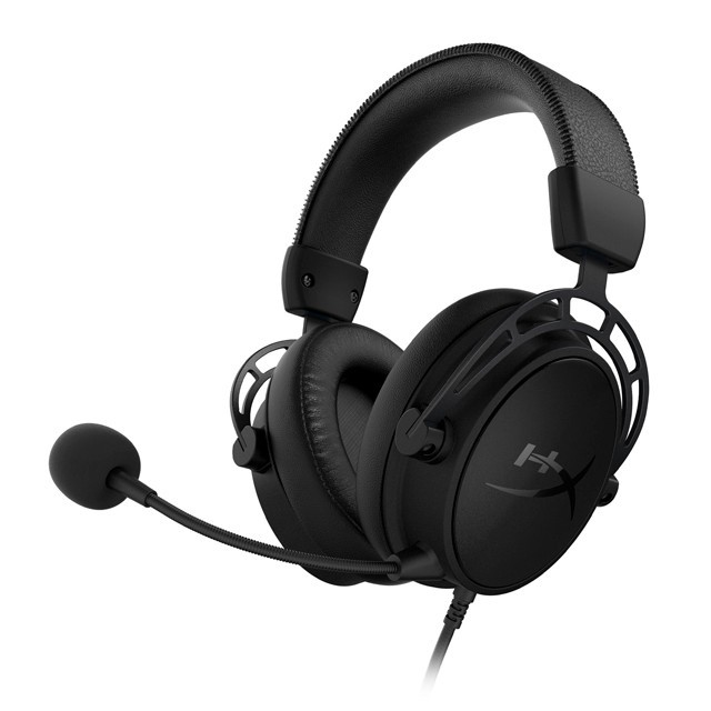 Auriculares HyperX Cloud Alpha S 7.1 Blackout Gaming Headset USB PC