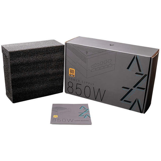 Fuente AZZA 850W 80 Plus Gold Full Modular