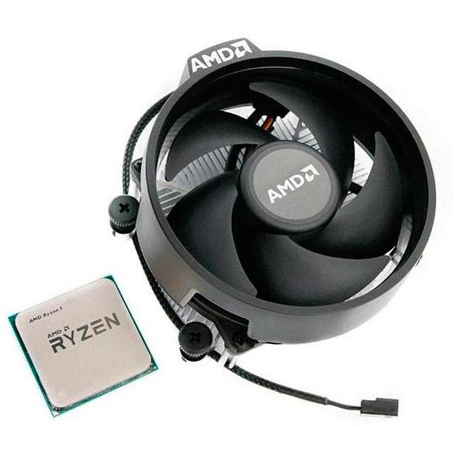 Micro AMD Ryzen 5 3400G - 4 Núcleos + Vega 11 + Cooler AM4 OEM