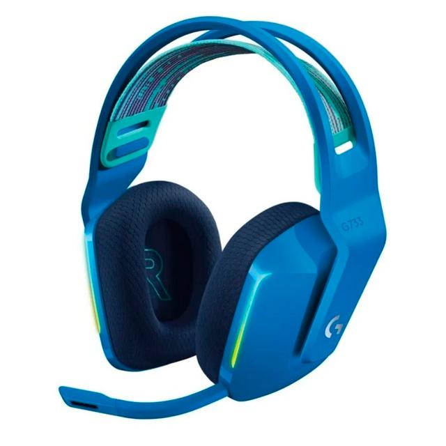 Auriculares Logitech G733 Lightspeed RGB Blue Gaming Headset PC
