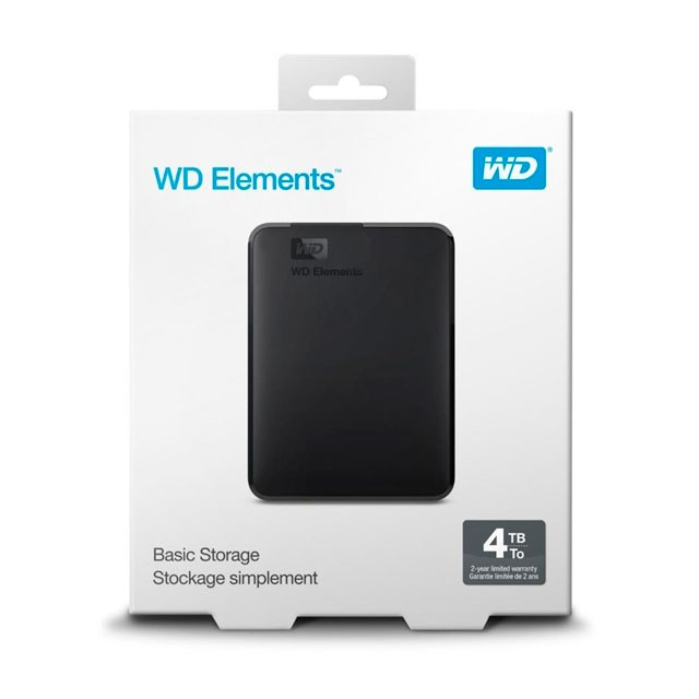 Disco Externo WD Elements 4TB USB 3.0