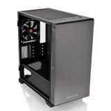 Gabinete Thermaltake S100 TG Negro Templado 1x12cm MICRO ATX