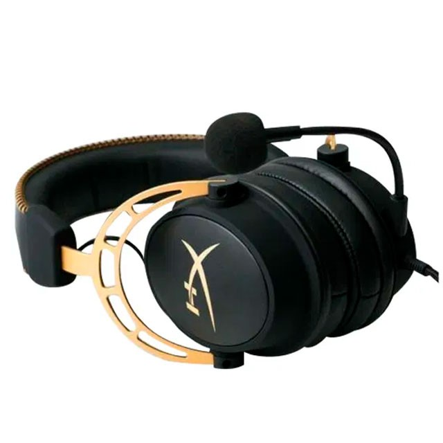 Auriculares HyperX Cloud Alpha Gaming Gold Headset PC/PS4/XBOX/Switch