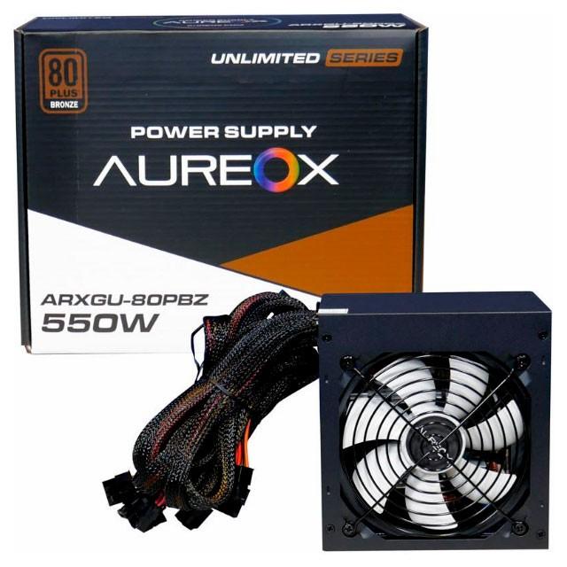 Fuente AUREOX ARXGU-550 550W 80 PLUS BRONCE