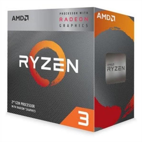 Micro AMD Ryzen 3 3200G QuadCore + Vega 8 AM4 BOX