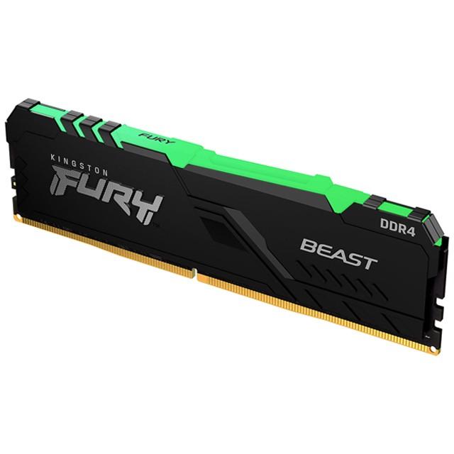 Memoria RAM Kingston 8GB DDR4 3200Mhz Fury Beast RGB