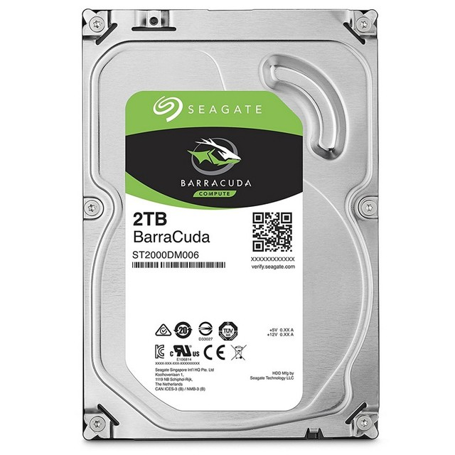 Disco Rígido PC 2Tb Seagate Barracuda SATA3