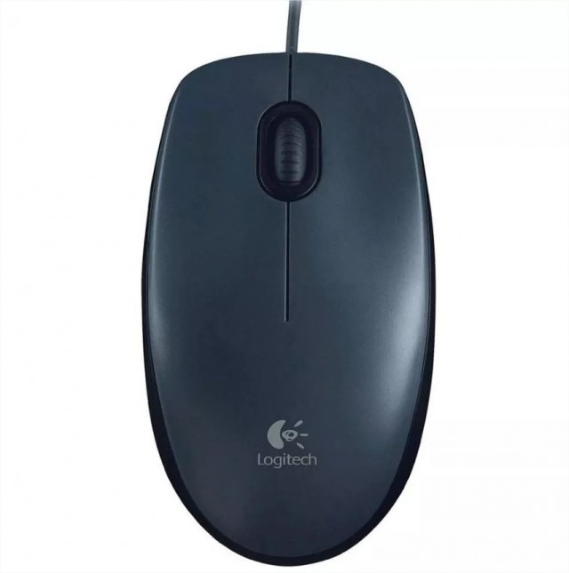 Mouse Logitech M90 Dark Midnight Gray USB