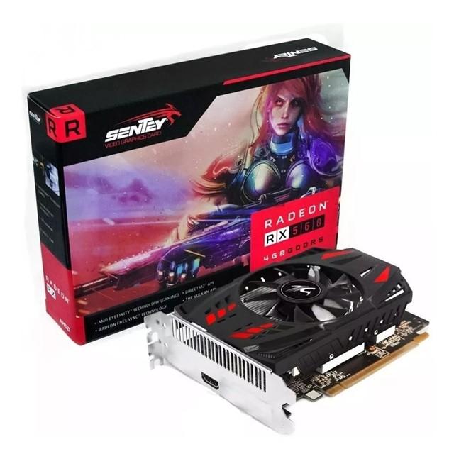 Placa de Video Sentey AMD Radeon RX560 4Gb GDDR5