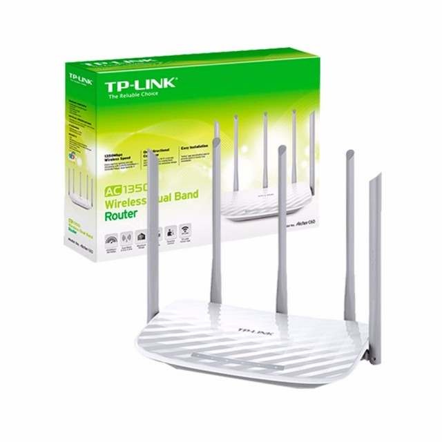 Router WiFi TP-Link Archer C60 AC1350 Dual Band 5 Ant