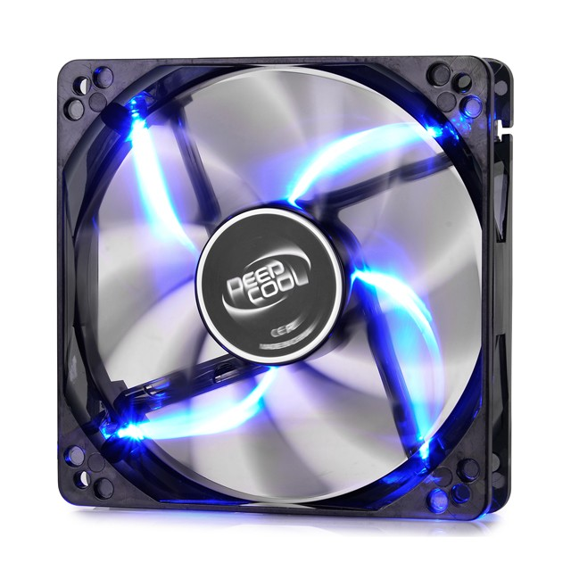 Cooler Fan Deep Cool 120MM Wind Blade LED Red/Blue
