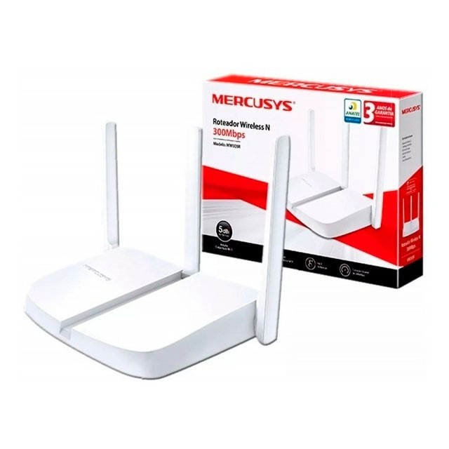 Router WiFi Mercusys by TP-Link MW305R 300Mbps 3 Ant