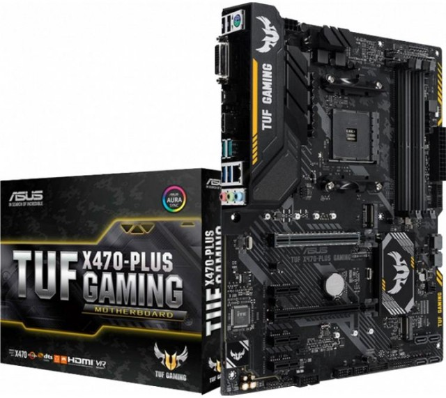 Mother ASUS TUF X470-PLUS GAMING AM4