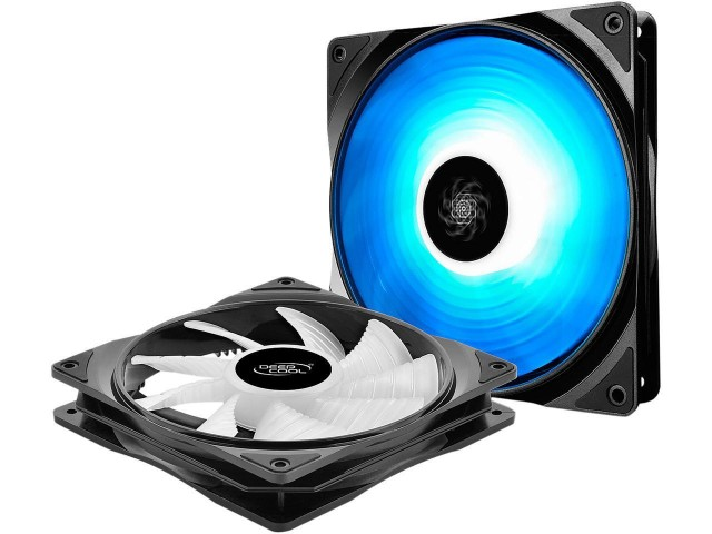 Cooler Fan KIT Deep Cool RF140 RGB (2x140mm + Controladora)